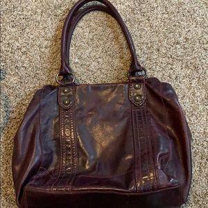 FRYE leather purse
